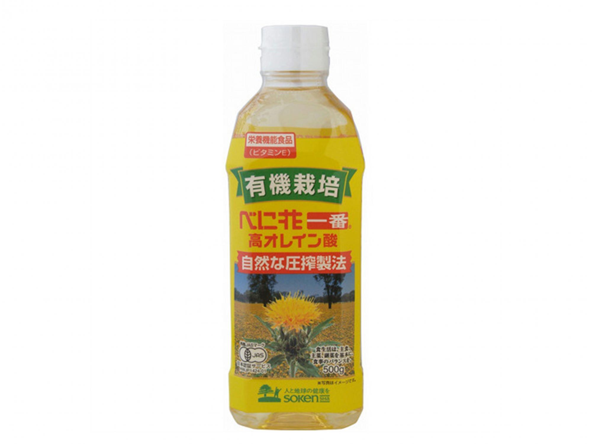 創健社べに花一番高オレイン酸500g   スーパーマーケット・ガンピー